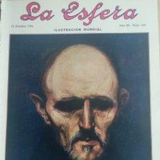 Coleccionismo de Revistas y Periódicos: LA ESFERA 1916 Nº 147 MONASTERIO SANTA CRUZ DE RIVAS (MONZON). Lote 180868645