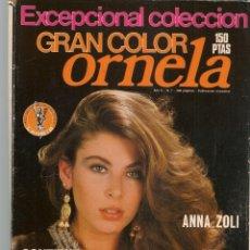 Coleccionismo de Revistas y Periódicos: GRAN COLOR ORNELA. Nº 7. 3 FOTONOVELAS. ANNA ZOLI. VER PORTADAS EN FOTOS ADICIONALES. (P/B78). Lote 180874321