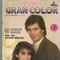 Coleccionismo de Revistas y Periódicos: FOTONOVELA: GRAN COLOR LUNELA.Nº 91. LO DEMÁS ES AMOR. ANNA ZOLI. (P/B78). Lote 180874526