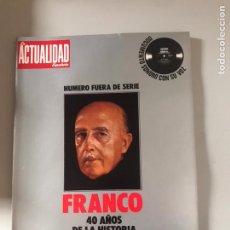 Coleccionismo de Revistas y Periódicos: LA ACTUALIDAD FRANCO. Lote 180878262