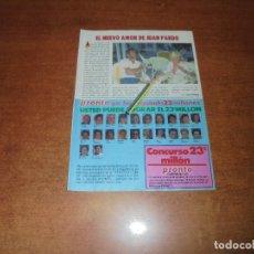 Coleccionismo de Revistas y Periódicos: CLIPPING 1986: JUAN PARDO. Lote 180893920