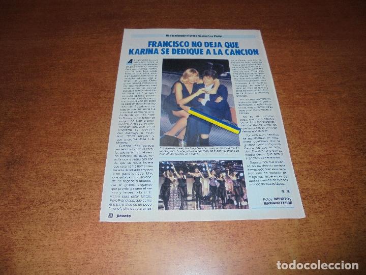 CLIPPING 1986: FRANCISCO. (Coleccionismo - Revistas y Periódicos Modernos (a partir de 1.940) - Otros)