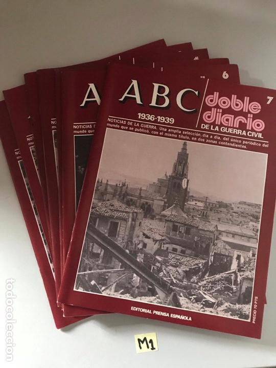 A-B-C DOBLE DIARIO LOTE DE 7 (Coleccionismo - Revistas y Periódicos Modernos (a partir de 1.940) - Otros)