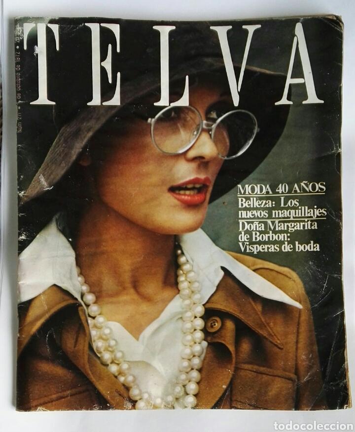 REVISTA TELVA OCTUBRE 1972 (Coleccionismo - Revistas y Periódicos Modernos (a partir de 1.940) - Otros)