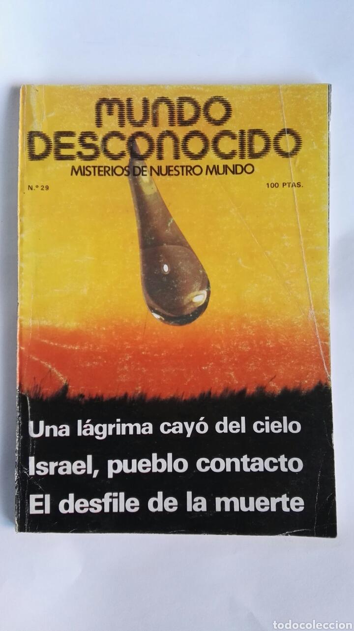 REVISTA MUNDO DESCONOCIDO N° 29 (Coleccionismo - Revistas y Periódicos Modernos (a partir de 1.940) - Otros)