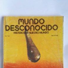 Coleccionismo de Revistas y Periódicos: REVISTA MUNDO DESCONOCIDO N° 29. Lote 180903876