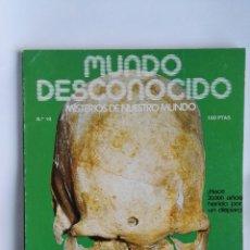 Coleccionismo de Revistas y Periódicos: REVISTA MUNDO DESCONOCIDO 10. Lote 180903925