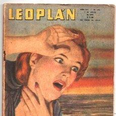 Coleccionismo de Revistas y Periódicos: 1954 LEOPLAN # 481 EL DIABLO NO DA CREDITO LA SRA HOLMES DESCUBRE EL ENIGMA CRIMEN MIK FERDIN´AND. Lote 180905833