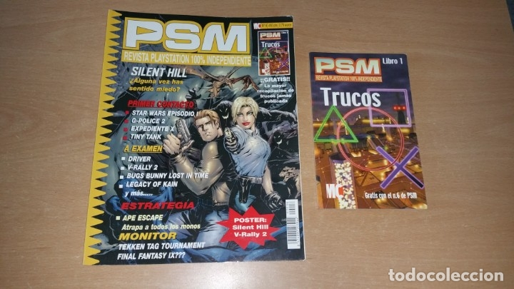PSM N°6 CON GUÍA REVISTA PLAYSTATION INDEPENDIENTE (Coleccionismo - Revistas y Periódicos Modernos (a partir de 1.940) - Otros)