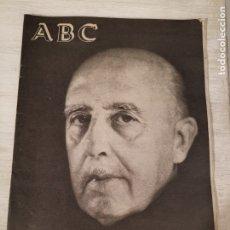 Coleccionismo de Revistas y Periódicos: ABC ESPECIAL FRANCO HA MUERTO. Lote 180977466