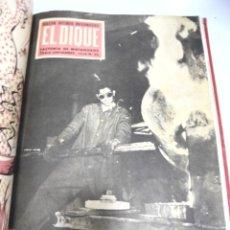 Coleccionismo de Revistas y Periódicos: BOLETIN INTERIOR INFORMATIVO EL DIQUE. AÑO 1958. COMPLETO. DEL Nº 25 AL 38. CADIZ. MATAGORDA. VER. Lote 180991771