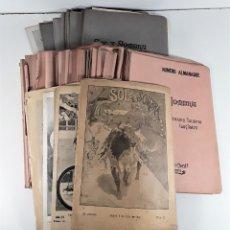 Coleccionismo de Revistas y Periódicos: SOL Y SOMBRA. SEMANARIO TAURINO. 67 EJEMPLARES. MADRID. 1897/1903.. Lote 180992606