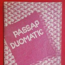 Coleccionismo de Revistas y Periódicos: PASSAP DUOMATIC. Lote 181074435