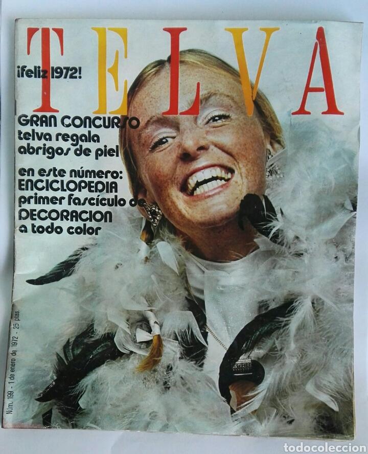 REVISTA TELVA 1972 (Coleccionismo - Revistas y Periódicos Modernos (a partir de 1.940) - Otros)