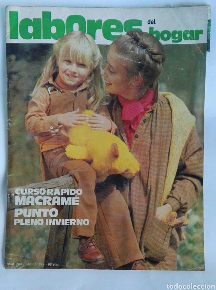 LABORES DEL HOGAR CURSO RÁPIDO MACRAMÉ 1979 (Coleccionismo - Revistas y Periódicos Modernos (a partir de 1.940) - Otros)