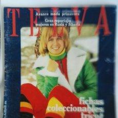 Coleccionismo de Revistas y Periódicos: REVISTA TELVA FEBRERO 1972 TRICOT GANCHILLO. Lote 181091233