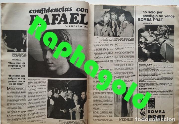 Coleccionismo de Revistas y Periódicos: Revista SEMANA 1419 Claudia Cardinale Raphael Brigitte Bardot Marisol Conchita Velasco - Foto 3 - 181133650