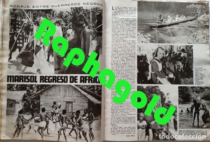 Coleccionismo de Revistas y Periódicos: Revista SEMANA 1419 Claudia Cardinale Raphael Brigitte Bardot Marisol Conchita Velasco - Foto 5 - 181133650