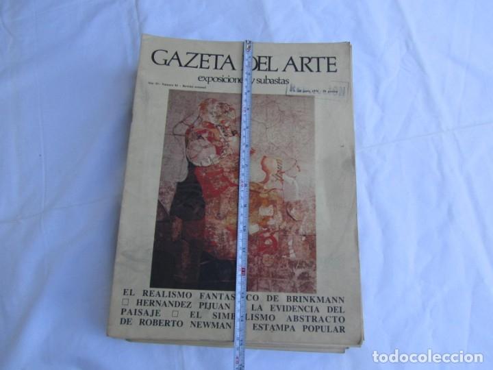 Coleccionismo de Revistas y Periódicos: 33 revistas Gazeta del Arte, años 70 - Foto 4 - 181154053