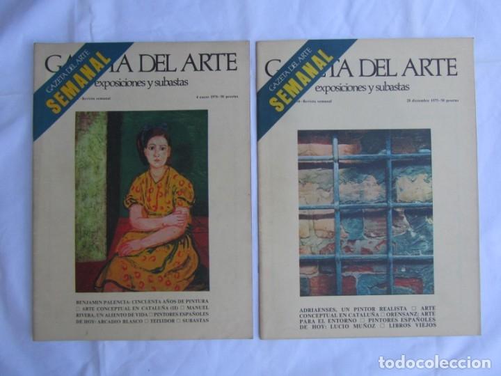 Coleccionismo de Revistas y Periódicos: 33 revistas Gazeta del Arte, años 70 - Foto 15 - 181154053