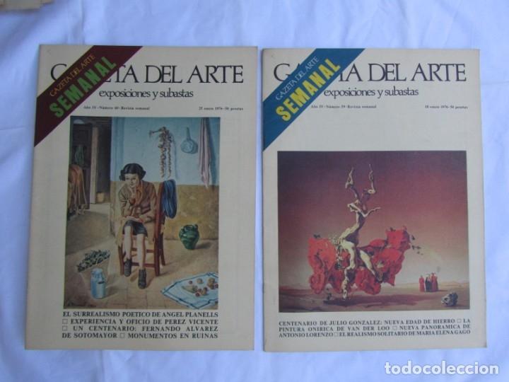 Coleccionismo de Revistas y Periódicos: 33 revistas Gazeta del Arte, años 70 - Foto 16 - 181154053