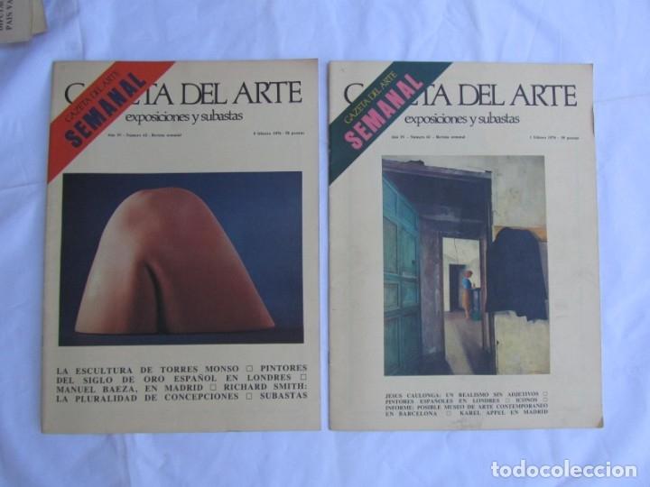 Coleccionismo de Revistas y Periódicos: 33 revistas Gazeta del Arte, años 70 - Foto 17 - 181154053