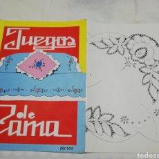Coleccionismo de Revistas y Periódicos: CUADERNO N°1 JUEGOS DE CAMA. Lote 181156853