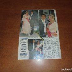 Coleccionismo de Revistas y Periódicos: CLIPPING 1992: NORMA DUVAL Y FRANCISCO FALLEROS DE HONOR.. Lote 181156868