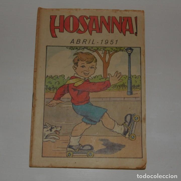 REVISTA HOSANNA. 1951. (Coleccionismo - Revistas y Periódicos Modernos (a partir de 1.940) - Otros)