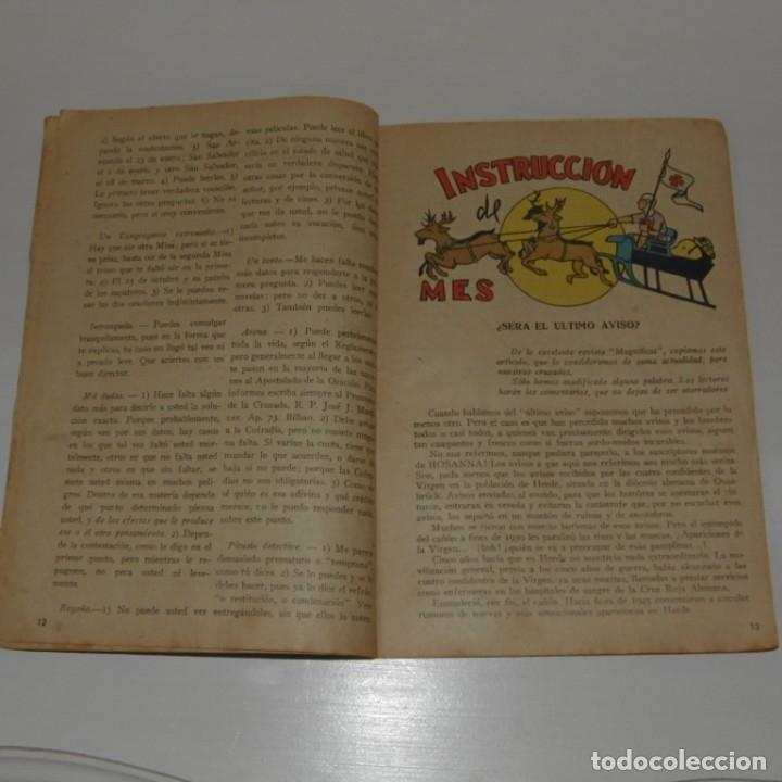 Coleccionismo de Revistas y Periódicos: Revista Hosanna. 1951. - Foto 3 - 181169702