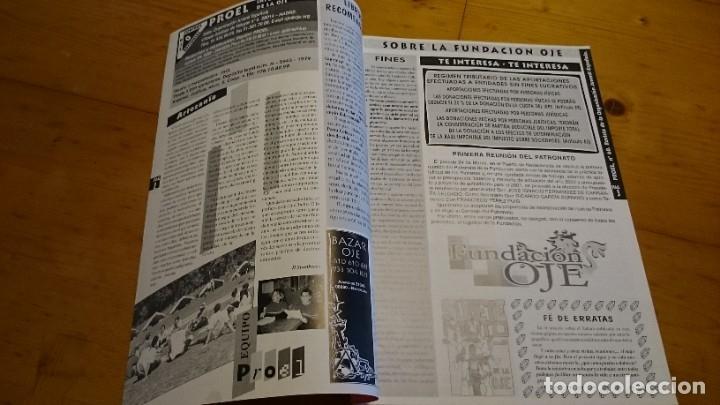 Coleccionismo de Revistas y Periódicos: BOLETÍN REVISTA PROEL OJE N 60 ÓRGANO DE LA ORGANIZACIÓN JUVENIL ESPAÑOLA - JUNIO 2001 - Foto 2 - 235461155