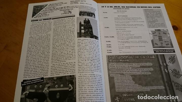 Coleccionismo de Revistas y Periódicos: BOLETÍN REVISTA PROEL OJE N 80 ÓRGANO DE LA ORGANIZACIÓN JUVENIL ESPAÑOLA - MAYO 2010 - Foto 2 - 235461940