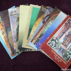 Coleccionismo de Revistas y Periódicos: LOTE 12 REVISTAS LA VOZ DE SAN ANTONIO. Lote 181209395