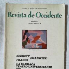 Coleccionismo de Revistas y Periódicos: REVISTA DE OCCIDENTE NÚM. 15 ENERO 1977. Lote 181212325