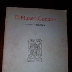 Coleccionismo de Revistas y Periódicos: EL MUSEO CANARIO - NÚMERO 1 - 1933. Lote 181219793