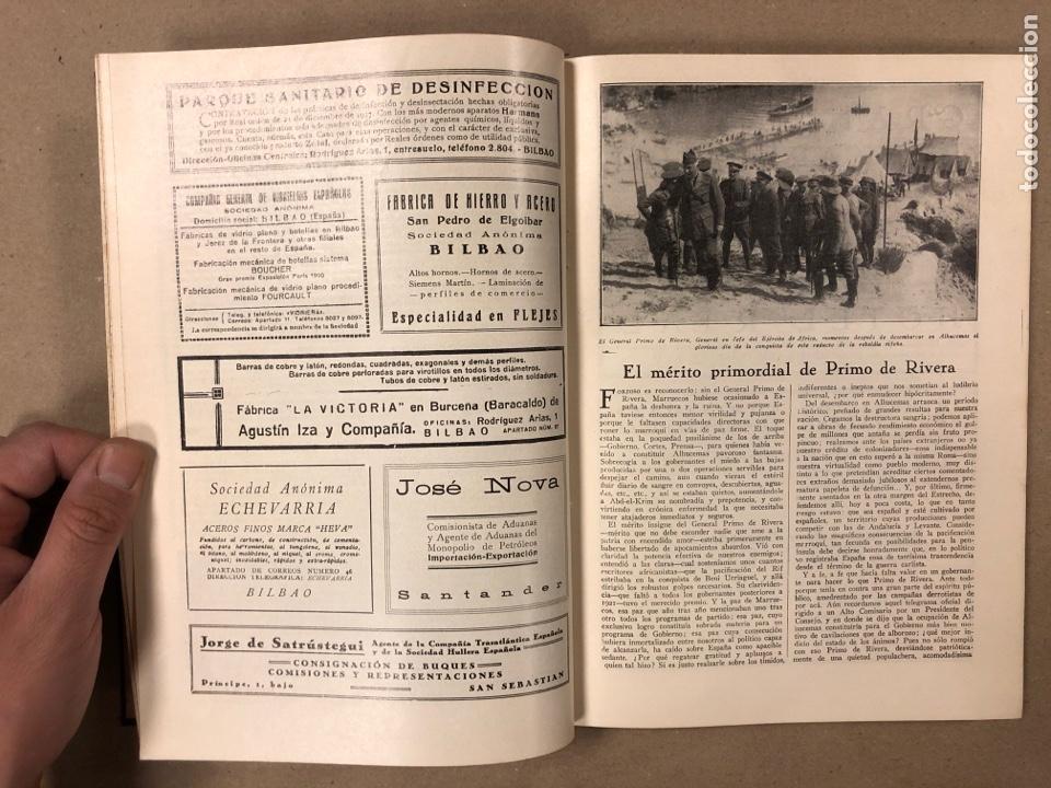 Coleccionismo de Revistas y Periódicos: UNIÓN PATRIÓTICA AÑO III N° 47 y 48 (1928). ESPECIAL MIGUEL PRIMO DE RIVERA Y ORBANEJA. ENCUADERNADO - Foto 5 - 181415508