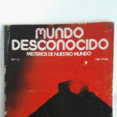 Coleccionismo de Revistas y Periódicos: REVISTA MUNDO DESCONOCIDO N° 21 KUKULKAN. Lote 181437502