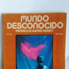 Coleccionismo de Revistas y Periódicos: REVISTA MUNDO DESCONOCIDO N° 24 LA MENTE LEVANTA EL CUERPO. Lote 181437558
