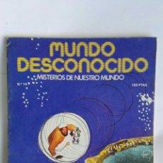 Coleccionismo de Revistas y Periódicos: REVISTA MUNDO DESCONOCIDO N° 14. Lote 181437653