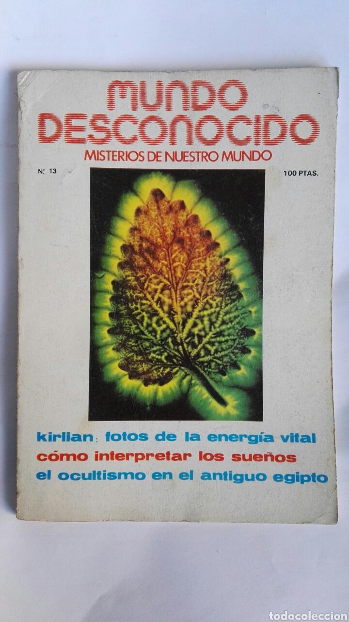 REVISTA MUNDO DESCONOCIDO N° 13 (Coleccionismo - Revistas y Periódicos Modernos (a partir de 1.940) - Otros)