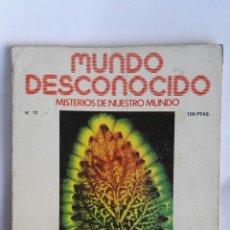 Coleccionismo de Revistas y Periódicos: REVISTA MUNDO DESCONOCIDO N° 13. Lote 181437690