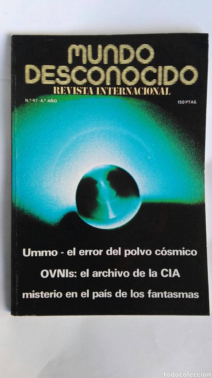 REVISTA MUNDO DESCONOCIDO N° 14 (Coleccionismo - Revistas y Periódicos Modernos (a partir de 1.940) - Otros)