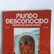 Coleccionismo de Revistas y Periódicos: REVISTA MUNDO DESCONOCIDO N° 35 CATAROS. Lote 181437750