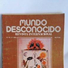 Coleccionismo de Revistas y Periódicos: REVISTA MUNDO DESCONOCIDO N° 46. Lote 181437857