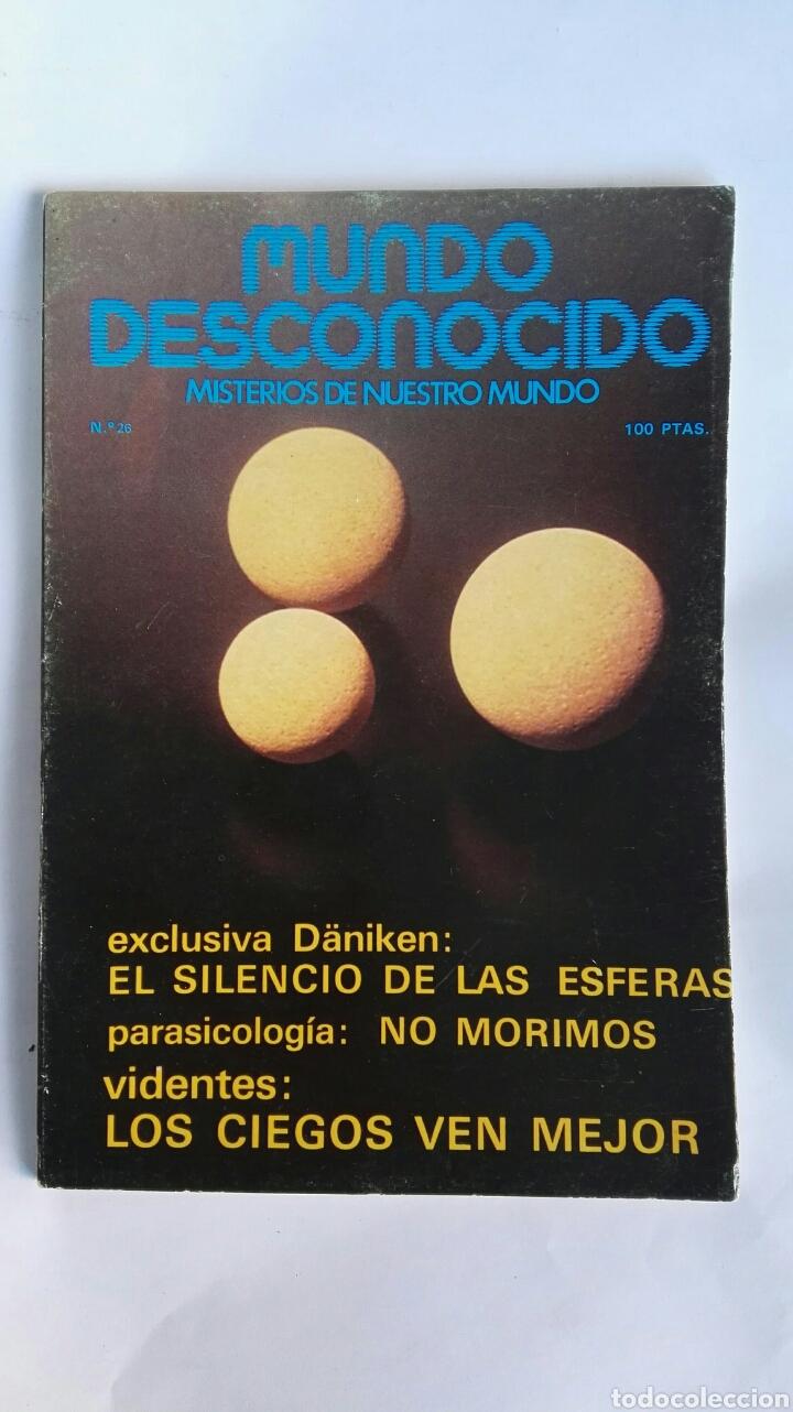 REVISTA MUNDO DESCONOCIDO N° 26 (Coleccionismo - Revistas y Periódicos Modernos (a partir de 1.940) - Otros)
