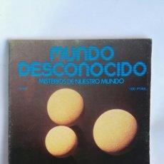 Coleccionismo de Revistas y Periódicos: REVISTA MUNDO DESCONOCIDO N° 26. Lote 181437936