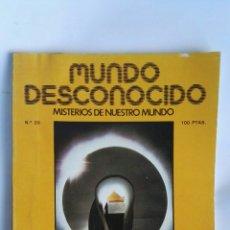 Coleccionismo de Revistas y Periódicos: REVISTA MUNDO DESCONOCIDO N° 20. Lote 181437977