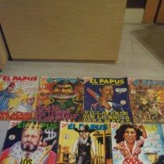 Coleccionismo de Revistas y Periódicos: EL PAPUS AÑOS 80 LOTE DE 10 REVISTAS. Lote 181439722