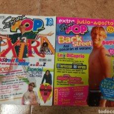 Coleccionismo de Revistas y Periódicos: REVISTAS SÚPER POP EXTRAS NÚMEROS 6Y10. Lote 181444967