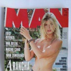 Coleccionismo de Revistas y Periódicos: REVISTA MAN N° 87 ARANCHA DE BENITO. Lote 181444985
